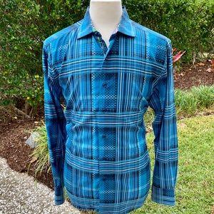 Robert Graham Long Sleeve Abstract Dress Shirt